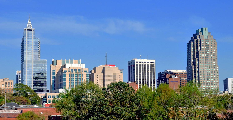Downtown Raleigh, NC skyline