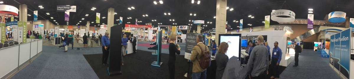 ISTE booth