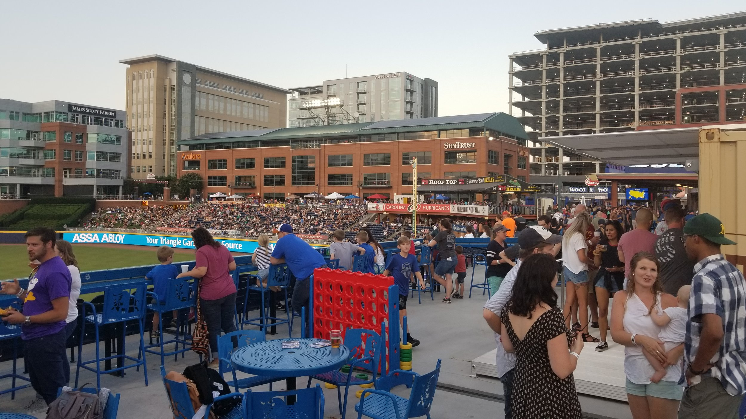 Durham Bulls Game, Summer 2019