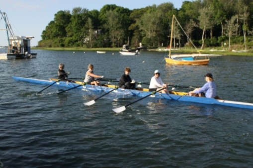 Cotuit Rowing Club (CRC)   Based at Ropes Beach on Old Shore Road, in Cotuit, the group rows the waters of the three bays of Cotuit, Osterville and Marstons Mills. CRC offers opportunities for individuals and recreational and competitive masters.