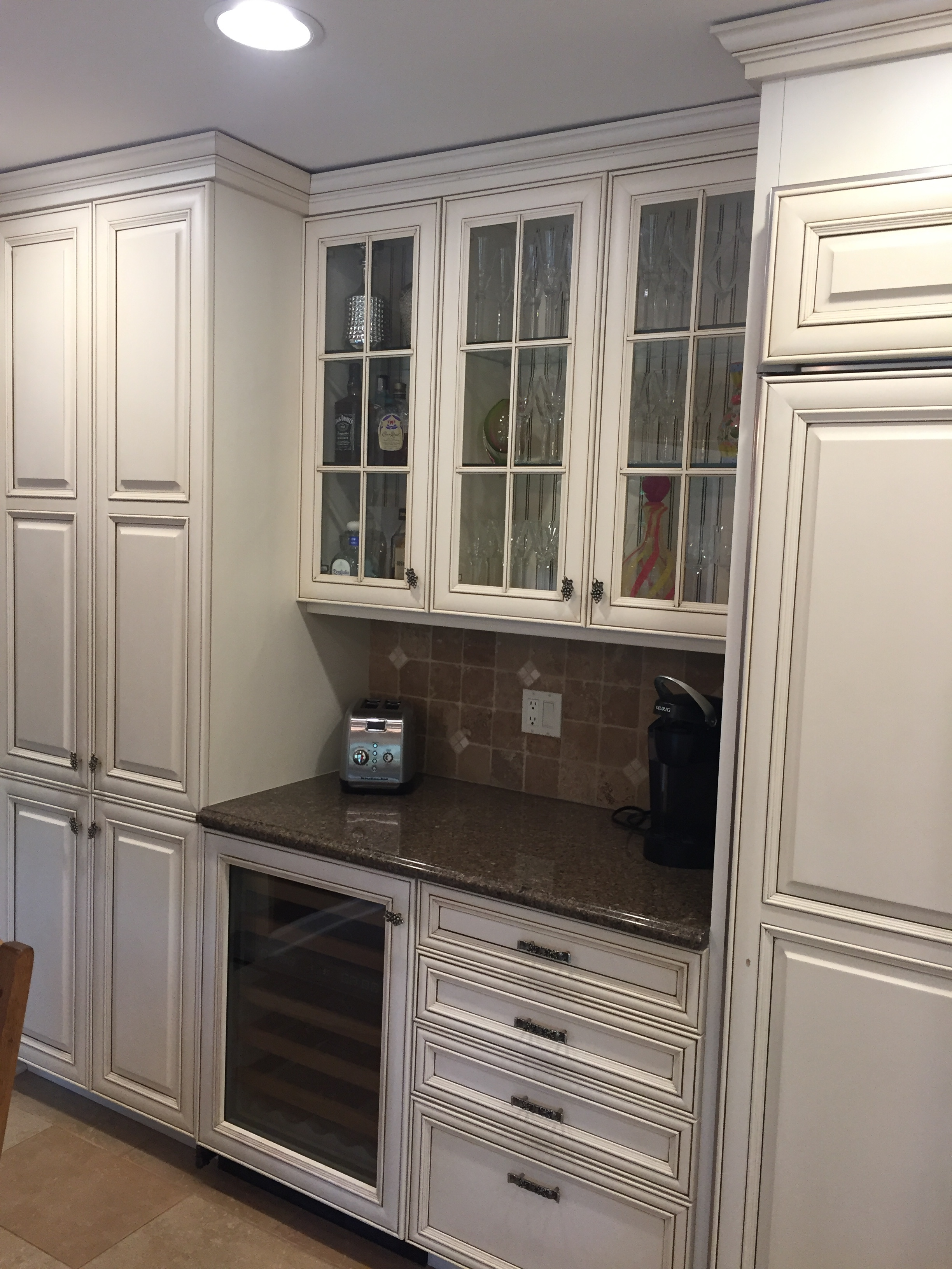 Perfect Custom White Wood Kitchen Complete Cabinets Sub ...