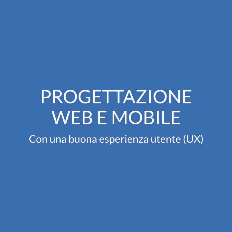 Progettazione web e mobile