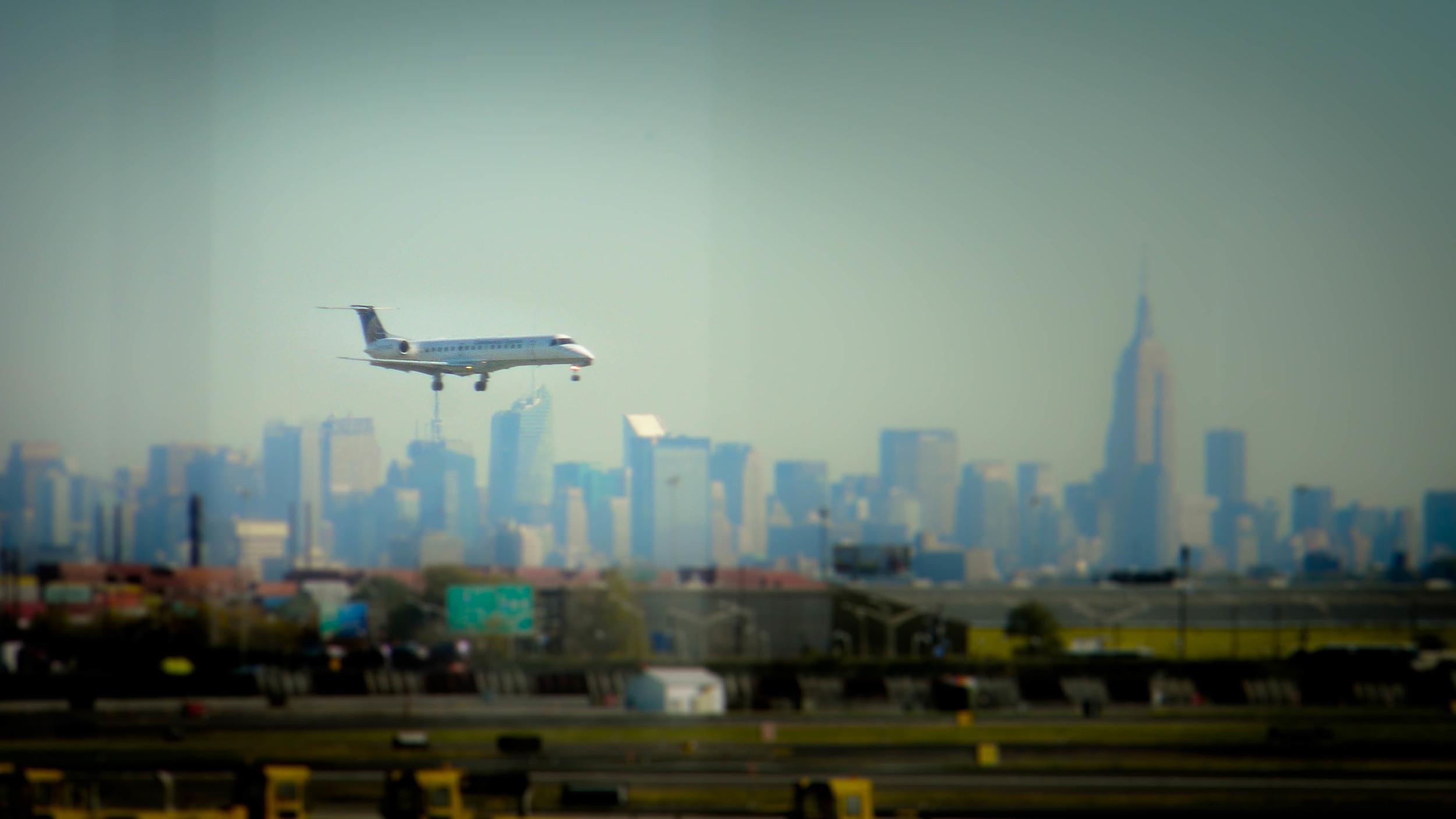 Landing: After