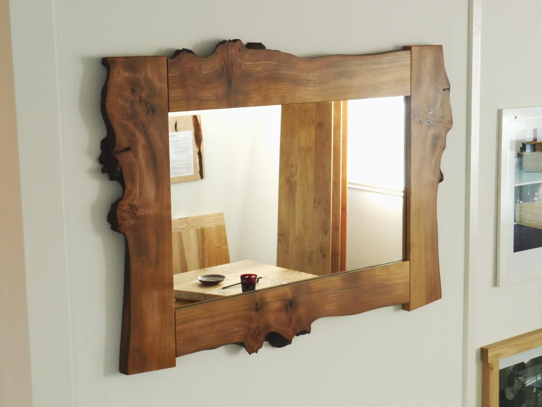 Waney Edge Elm Mirror.JPG