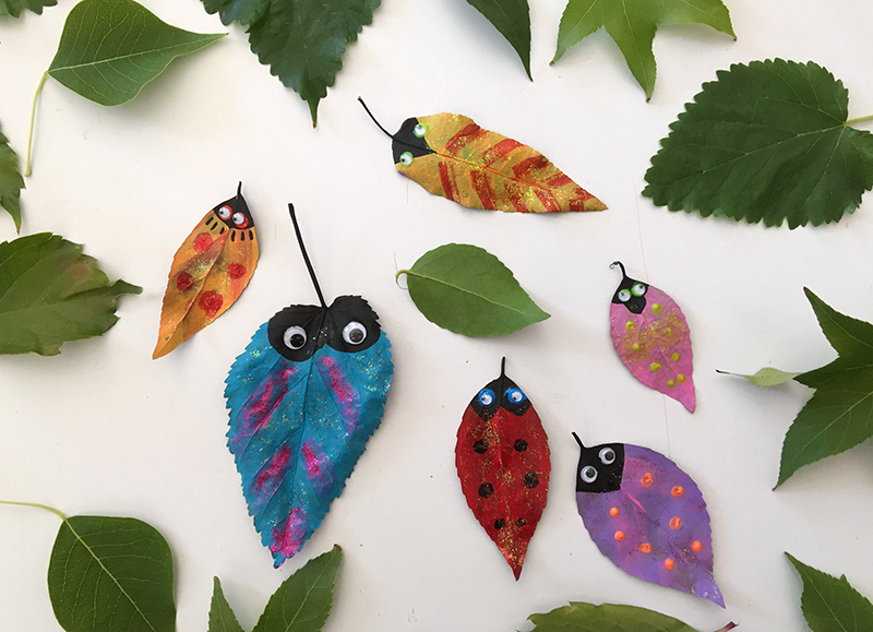 """Make and Take"" Leaf Bugs"