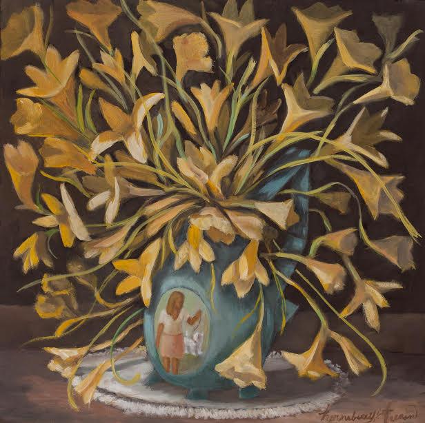 Yellow Trombone Flowers