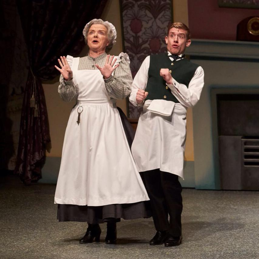 With Anthony MacPherson in  Mary Poppins , Theatre Aquarius, 2015.