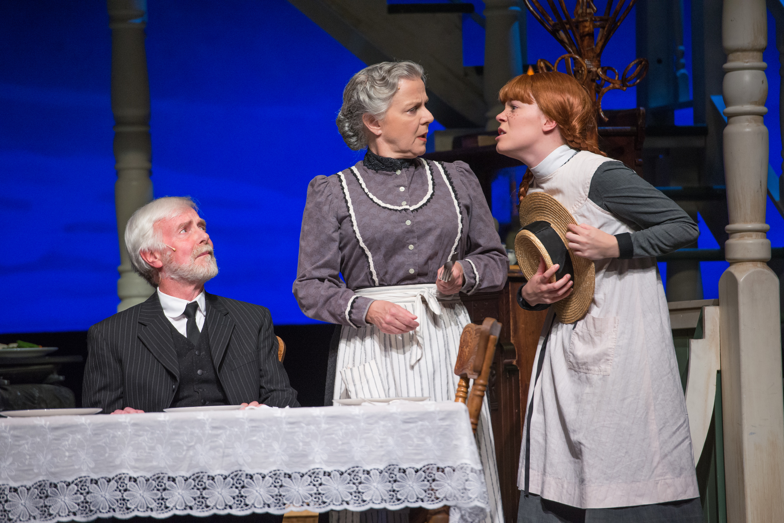 Hank Stinson, Charlotte Moore, Jessica Gallant. Charlottetown Festival 2015.