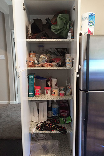 Kitchen Pantry - Before