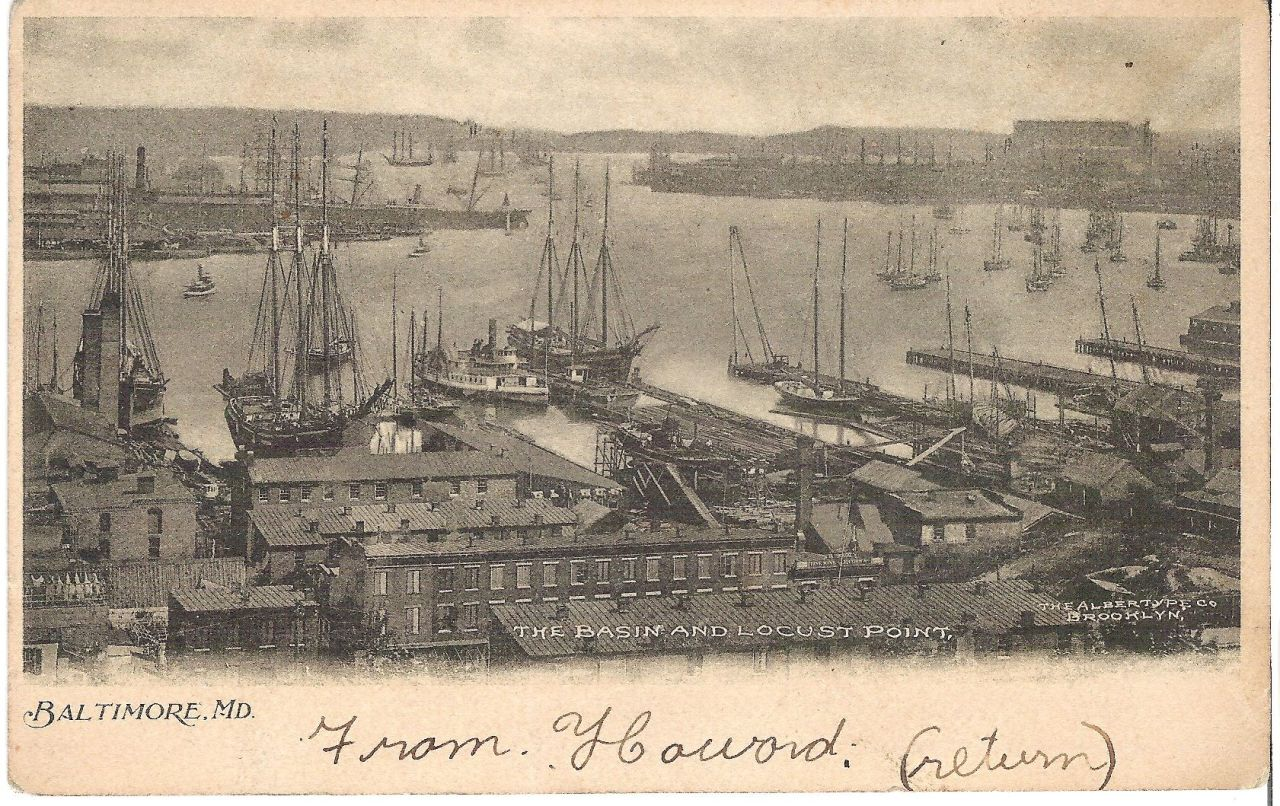 19th century postcard depicting Baltimore Harbor, with the steamboat  Chester  in the center of the image. Collections of the Chesapeake Bay Maritime Museum.   On this day, May 31, in 1872, a Chesapeake steamboat was the object of one of the earliest pre-Jim Crow cases in Maryland. Josephine Carr, an African-American school teacher from  Kent County, sued the steamboat  Chester  for an assault. The incident  had taken place on May 14, when Carr sat in the steamboat's main cabin- a space reserved for white passengers. When Carr refused to  move, the captain and crew dragged her to the black-only forward cabin, where Carr declined to wait. Instead, she moved to the bow, where she stood until the  Chester  reached Chestertown and Carr disembarked. She would later file a libel suit against the  Chester  for her mistreatment.   Carr won her landmark case, and was awarded $25 damages. Carr's case was one of several  in which 19th century courts ruled in favor of blacks on  transportation accommodations- a precursor to many such standoffs, which Rosa Parks would someday make famous.