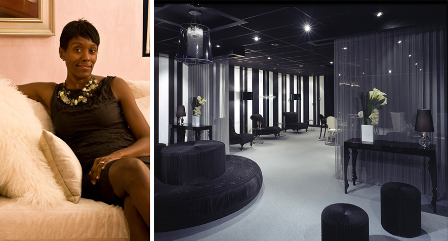 The humble design diva and the offices she designed for BET.
