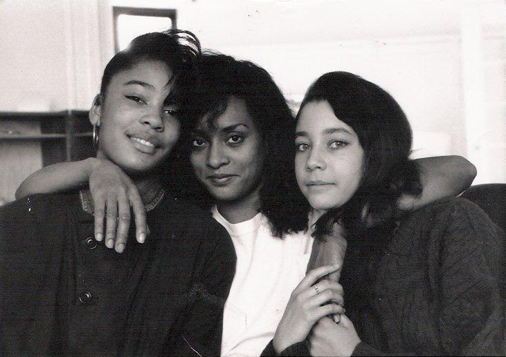 """""""They started my transformation."""" Monisha and Aja flank their Aunt """"Lisa."""""""