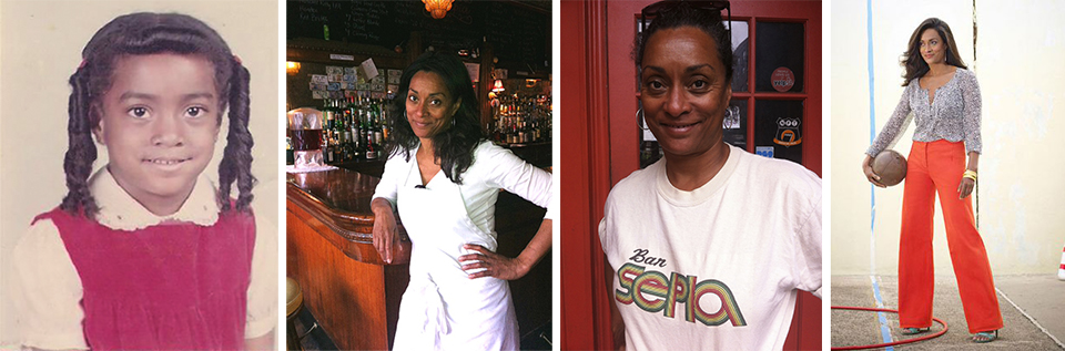 Kindergartner Delissa;photographed at Bar Sepia by Elia Lyssy ; rocking a signature tee; and photographed by  Sergio Kurhajec for O, The Oprah Magazine, 2011.