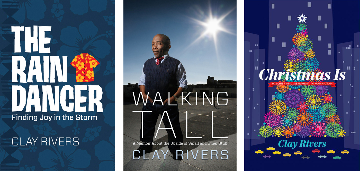 After writing three non-fiction books, including his memoir,   Walking Tall  , Clay made his foray into fiction with   Christmas Is .