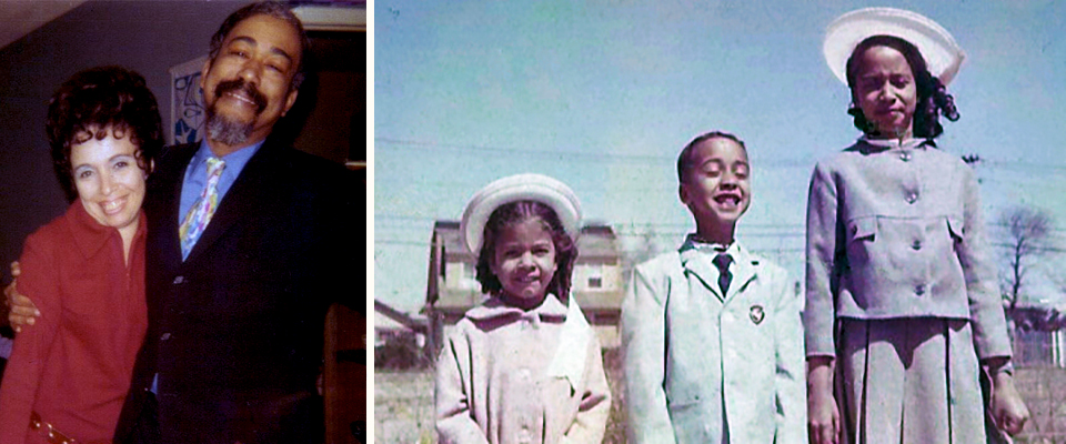 Rita and Brumsic Brandon, Jr.Their children Barbara, Brumsic III and Linda on Easter Sunday 1963. Photos courtesy of Barbara Brandon-Croft.