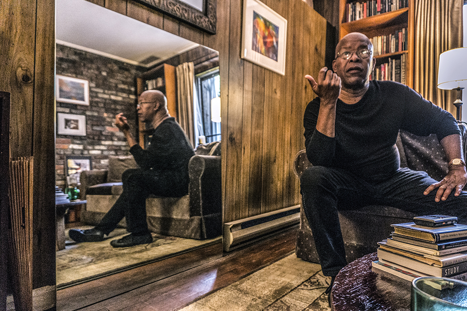 William Hooker photographed in his Manhattan home by Sharon Pendana for THE TROVE on September 11, 2018