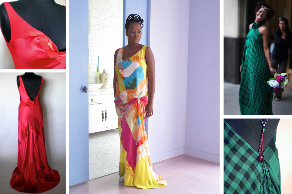 Cassandra's designs move fluidly across the body. Photos courtesy of Cassandra Bromfield. Center photo: Photographer,  Keston Duke , Hair:  Khamit Kinks , Make up Artist  Jewel Whinfield . Location: The home of  Malene Barnett.