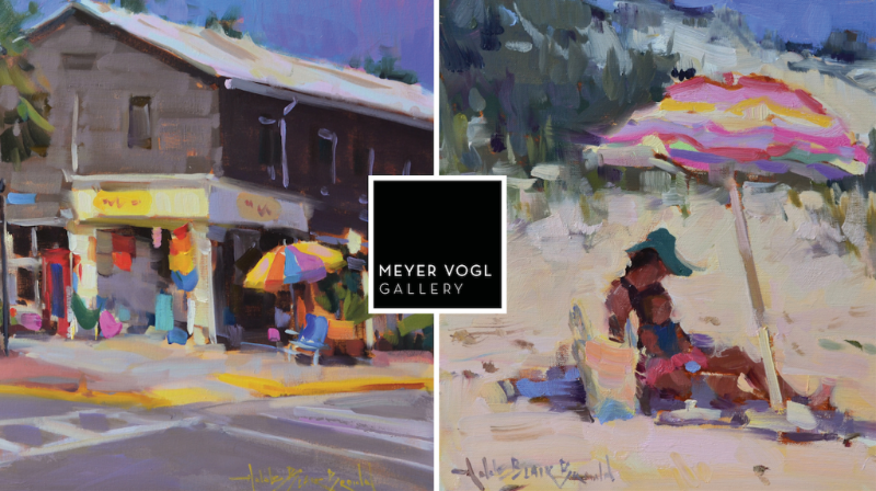 A Nashville-based plein-air painter, Anne Blair Brown travels the world to paint. But this show features work that is quintessentially southern.    Celebrate with us opening night!    Friday, November 3, 2017 5-8pm    Meyer Vogl Gallery     Charleston, SC    122 Meeting Street