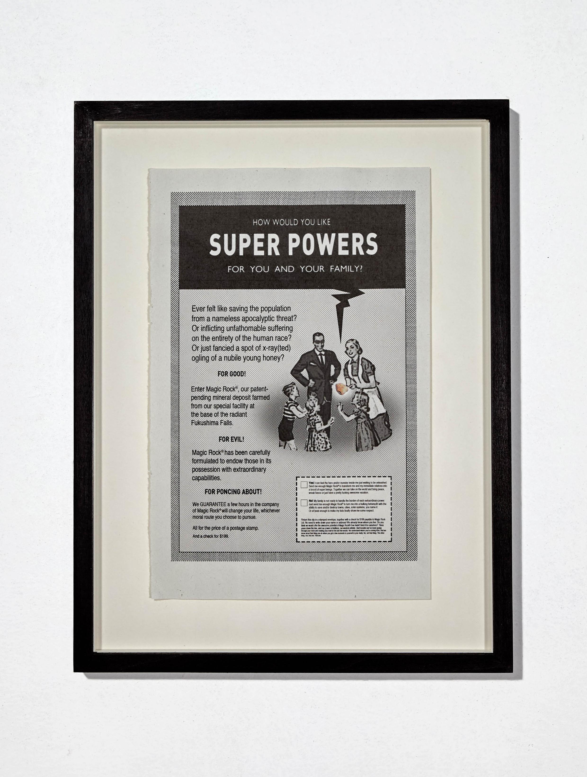 Unfound object VI (Superpowers)