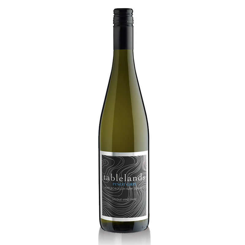 Tablelands Pinot Gris - Aromas and flavors of ripe Anjou pears with spice notes; weighty, yet smooth with balanced acidity