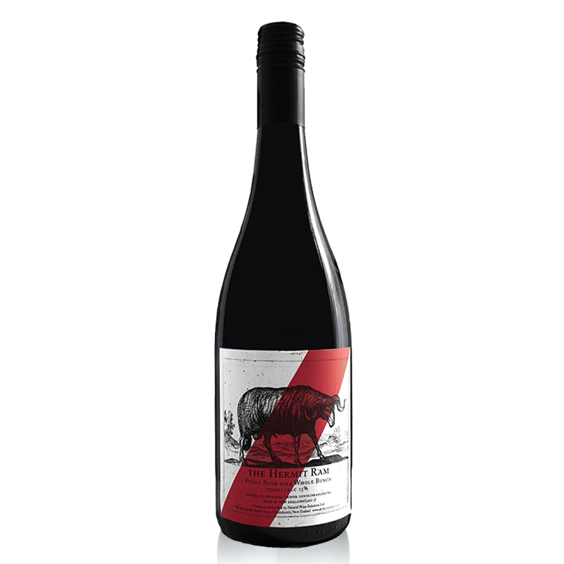 Whole BunchPinot Noir - redolent of violets, roses and wild cherries. The Whole bunch palate gives line and length to the wine and creates a fresh texture to compliment the masses of aromatics - smashable