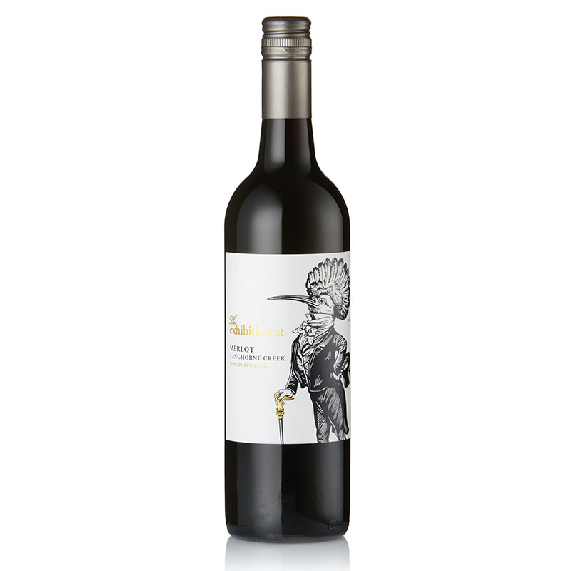 The Exhibitionist Merlot - Full of rich plum and damson fruit on the nose. Oak used is unobtrusive on the palate which is dominated by rich red berry flavors while also presenting subtle earthy nuances. The wine is elegant and silky with a long finish.