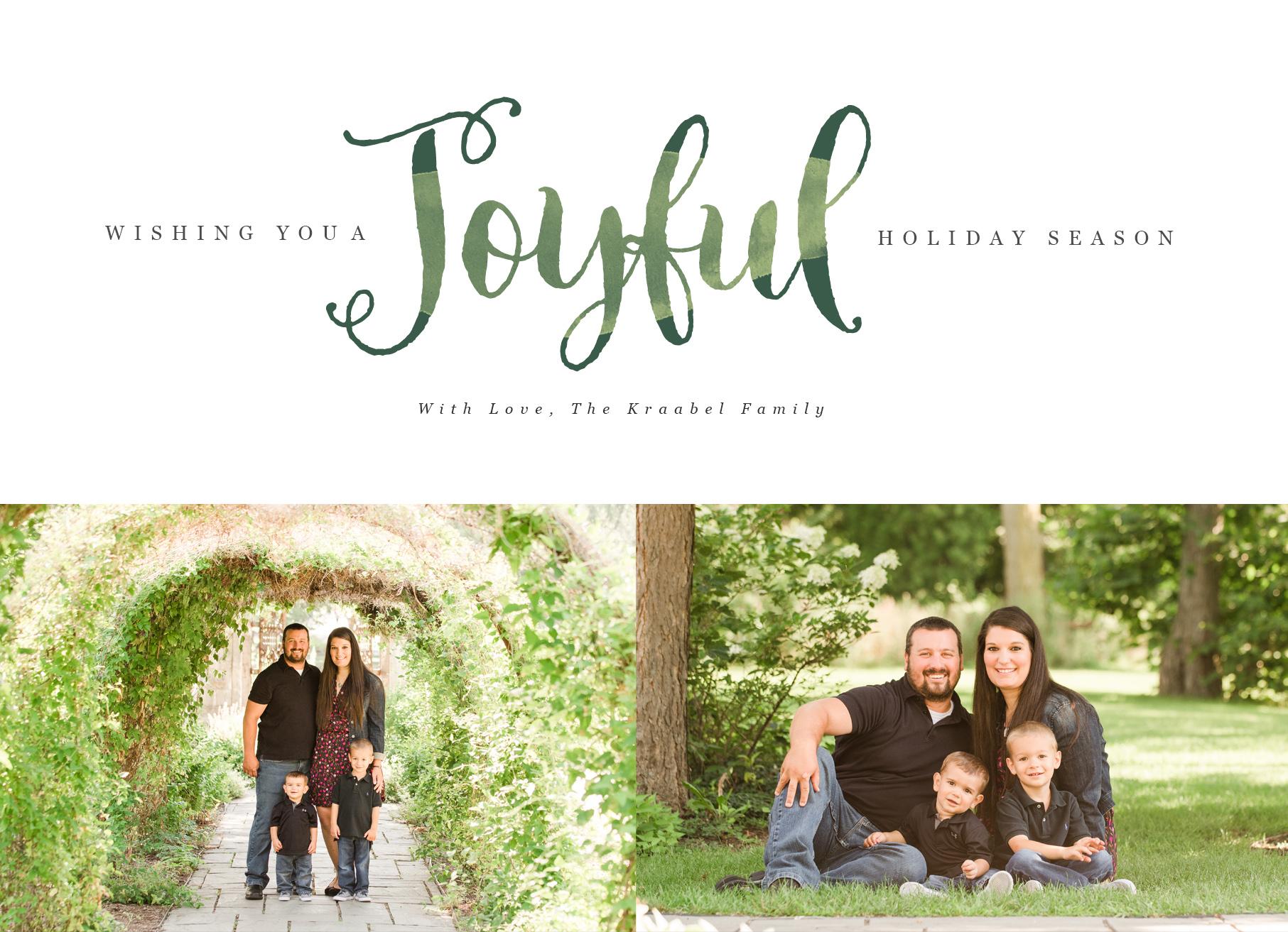 joyful front