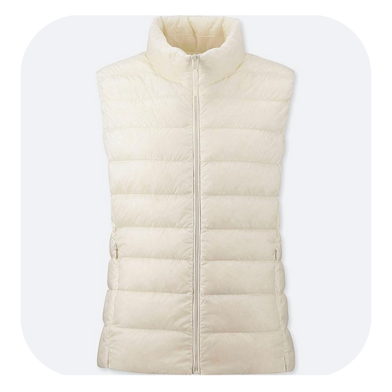 Puffy vest - it actually folds down really small