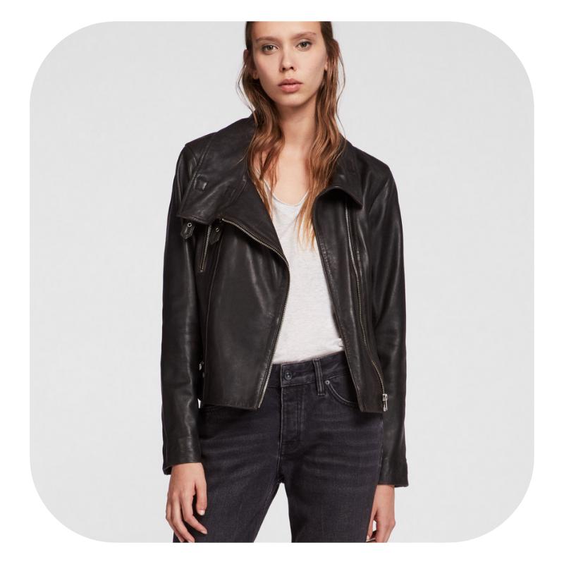 Leather Jacket -