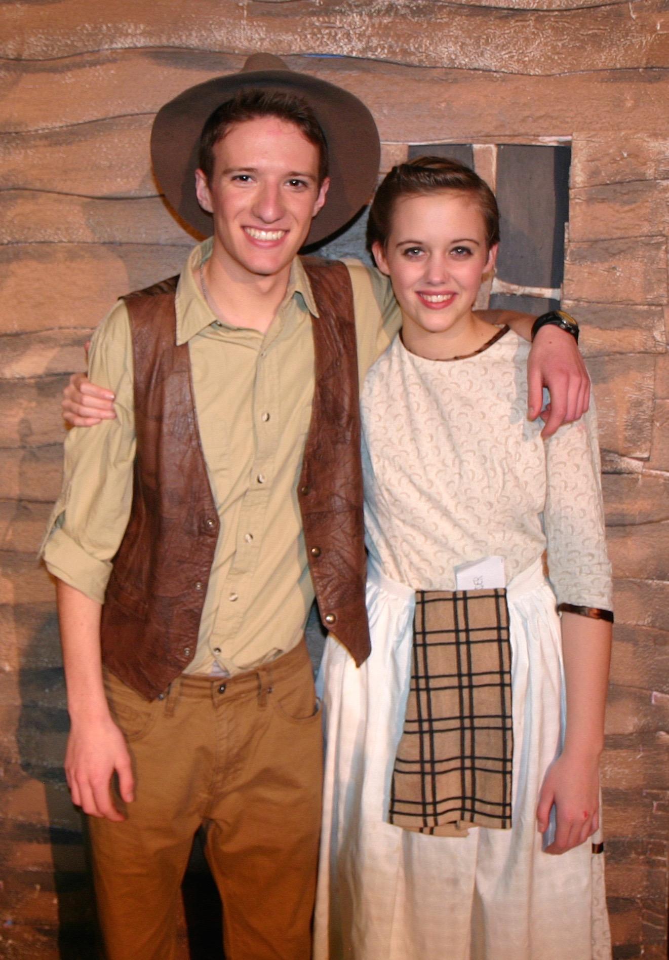 Auntie Em (Emily Cowherd) and Uncle Henry (Josh Gaston)