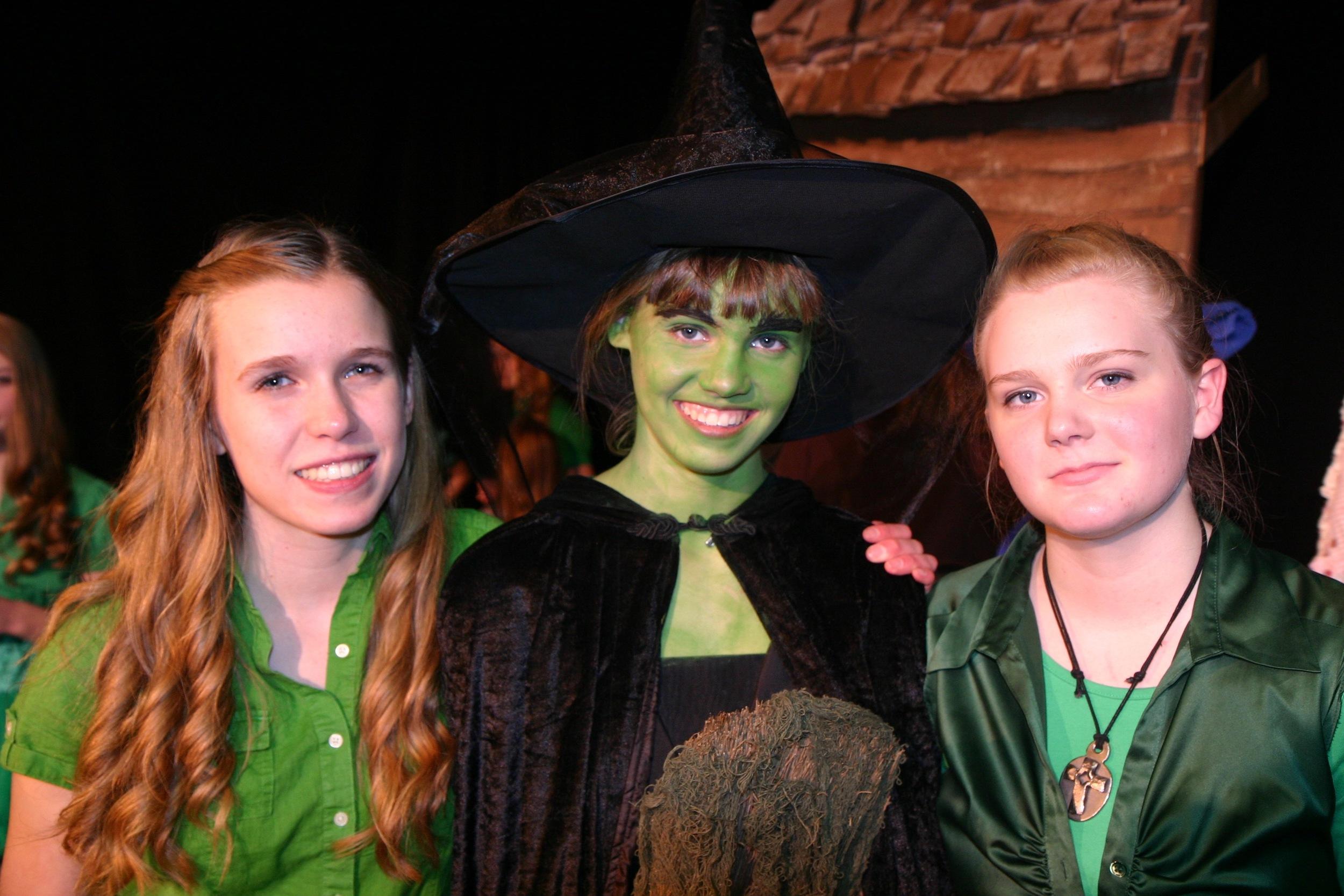 Janelle Ikes, Elaine George, and Erica Block