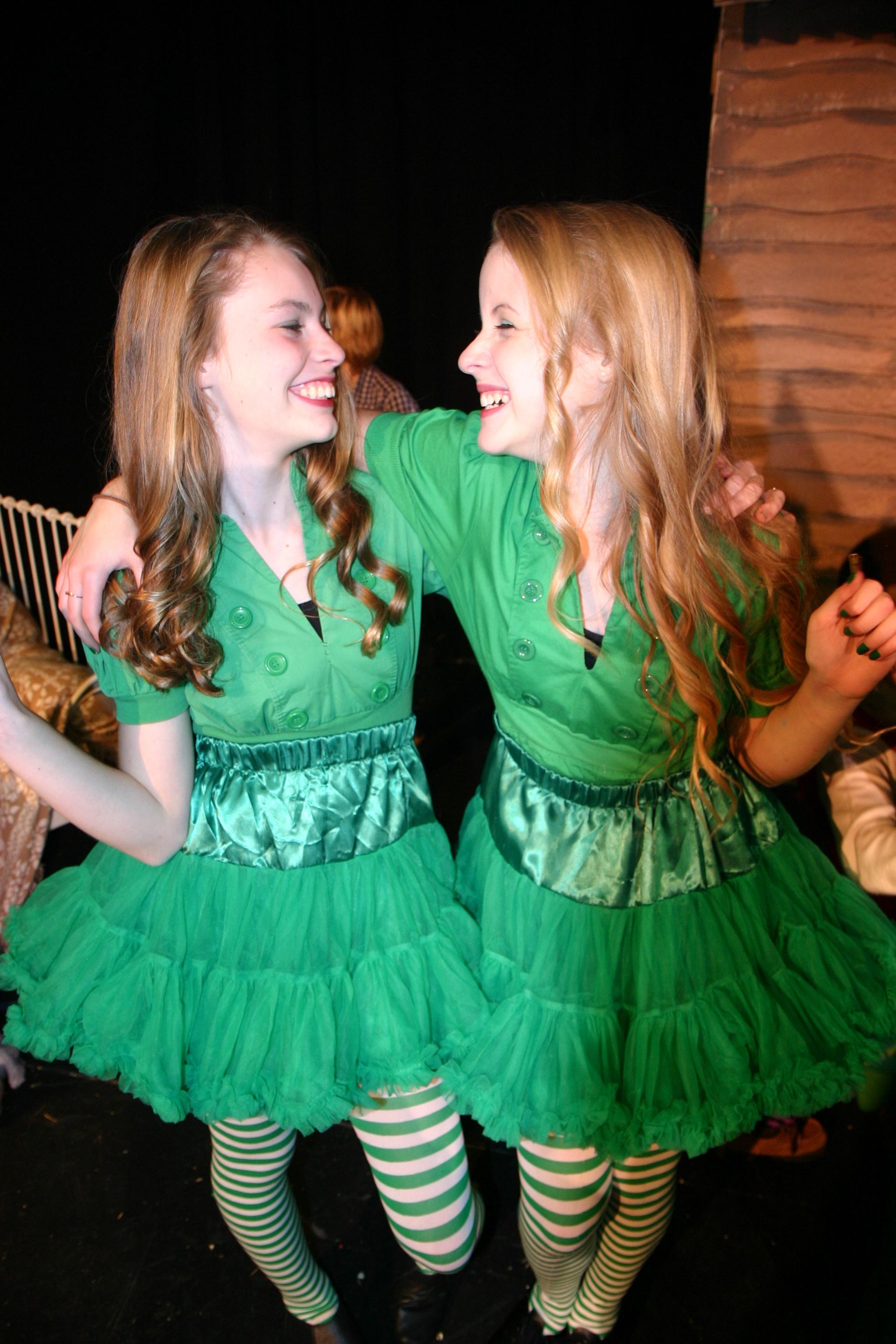 The Emerald City Girls (Emma Chandler and Gigi Cowherd)
