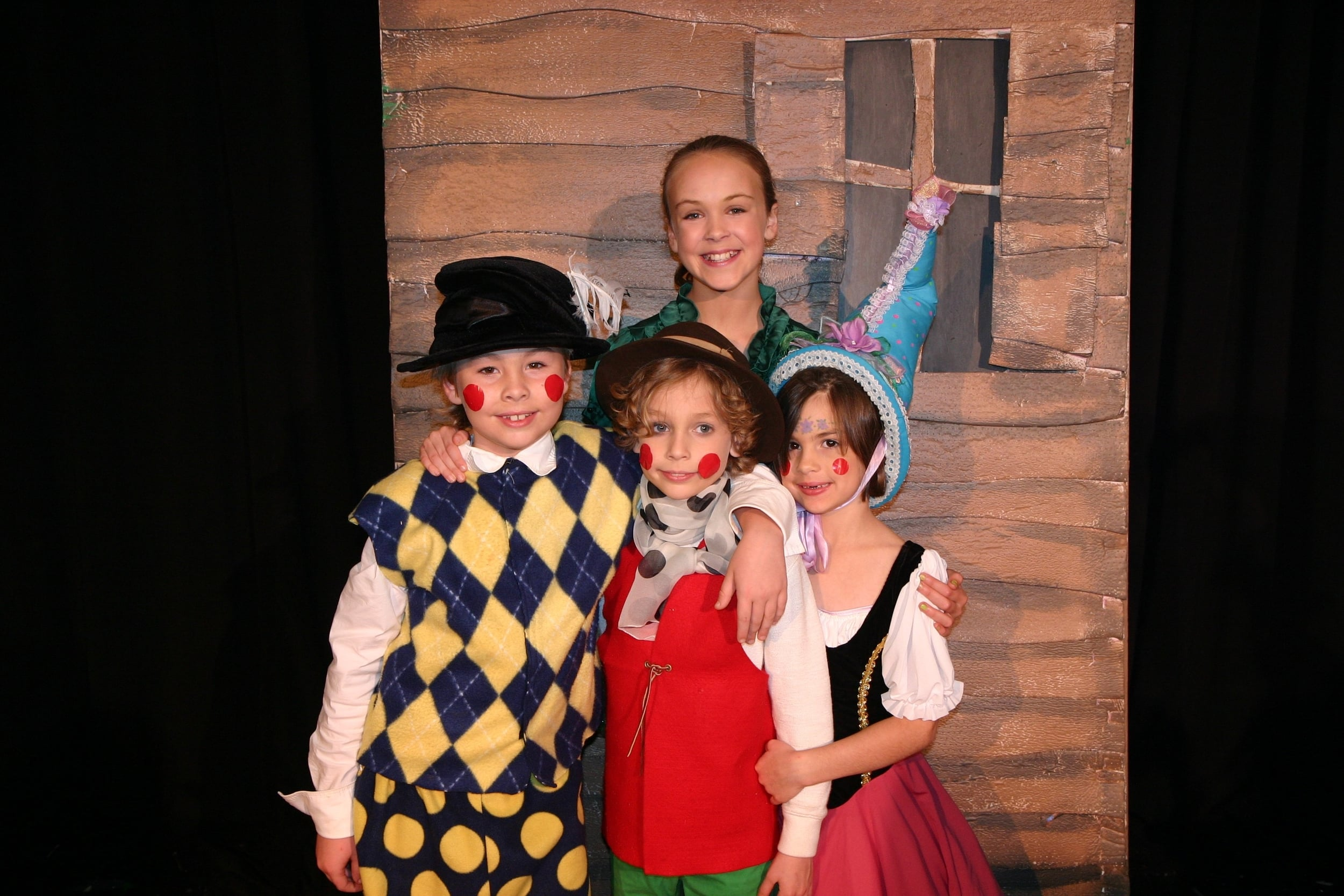 Nathan, Mathias, Etta and Elsa