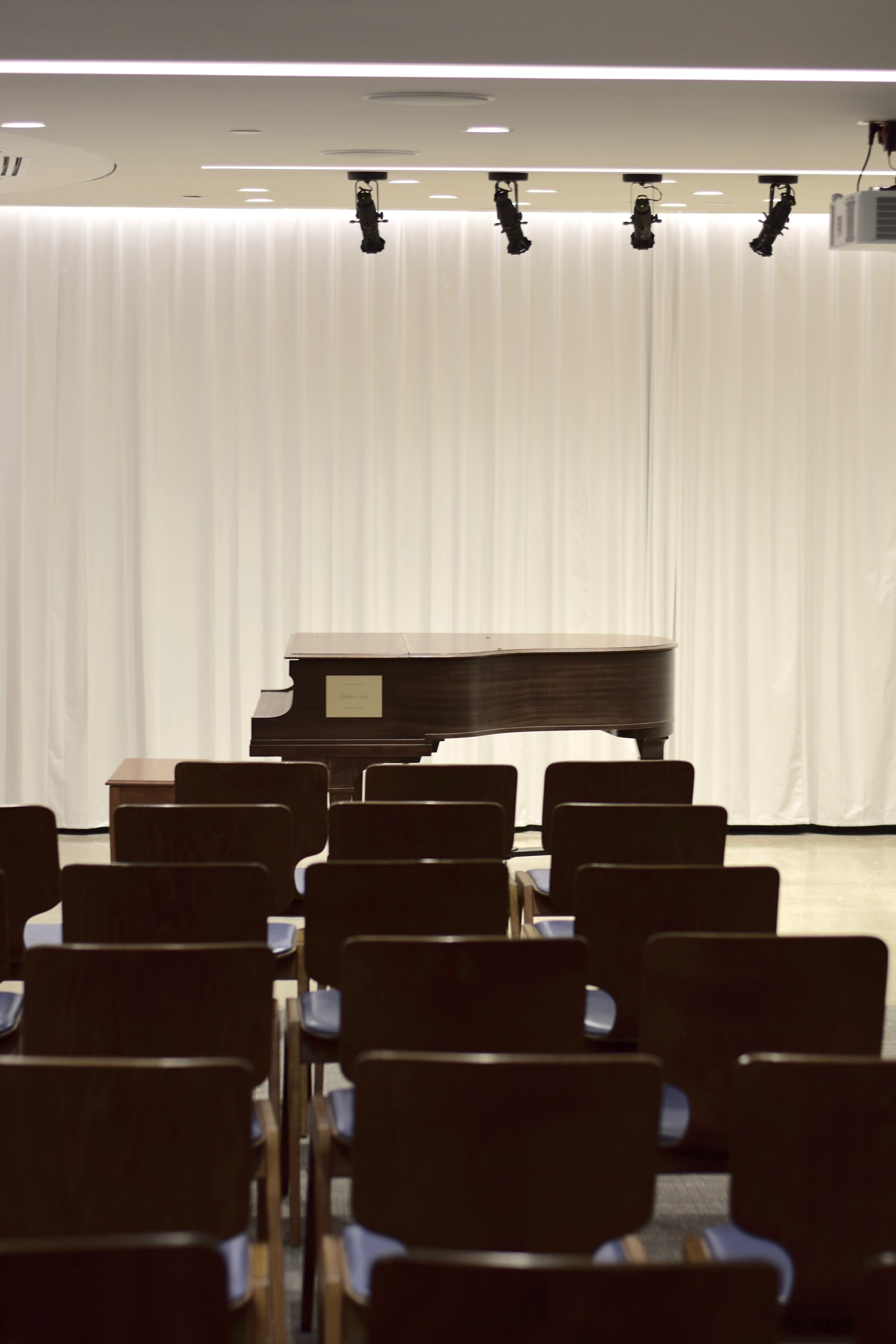 Omaha Conservatory of Music's recital hall