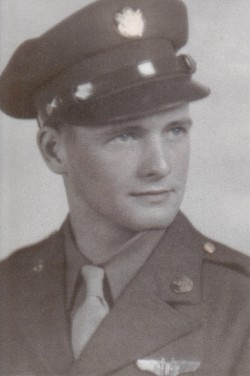 "18-Year-Old Bill ""Tailgunner"" Drewry in 1943"
