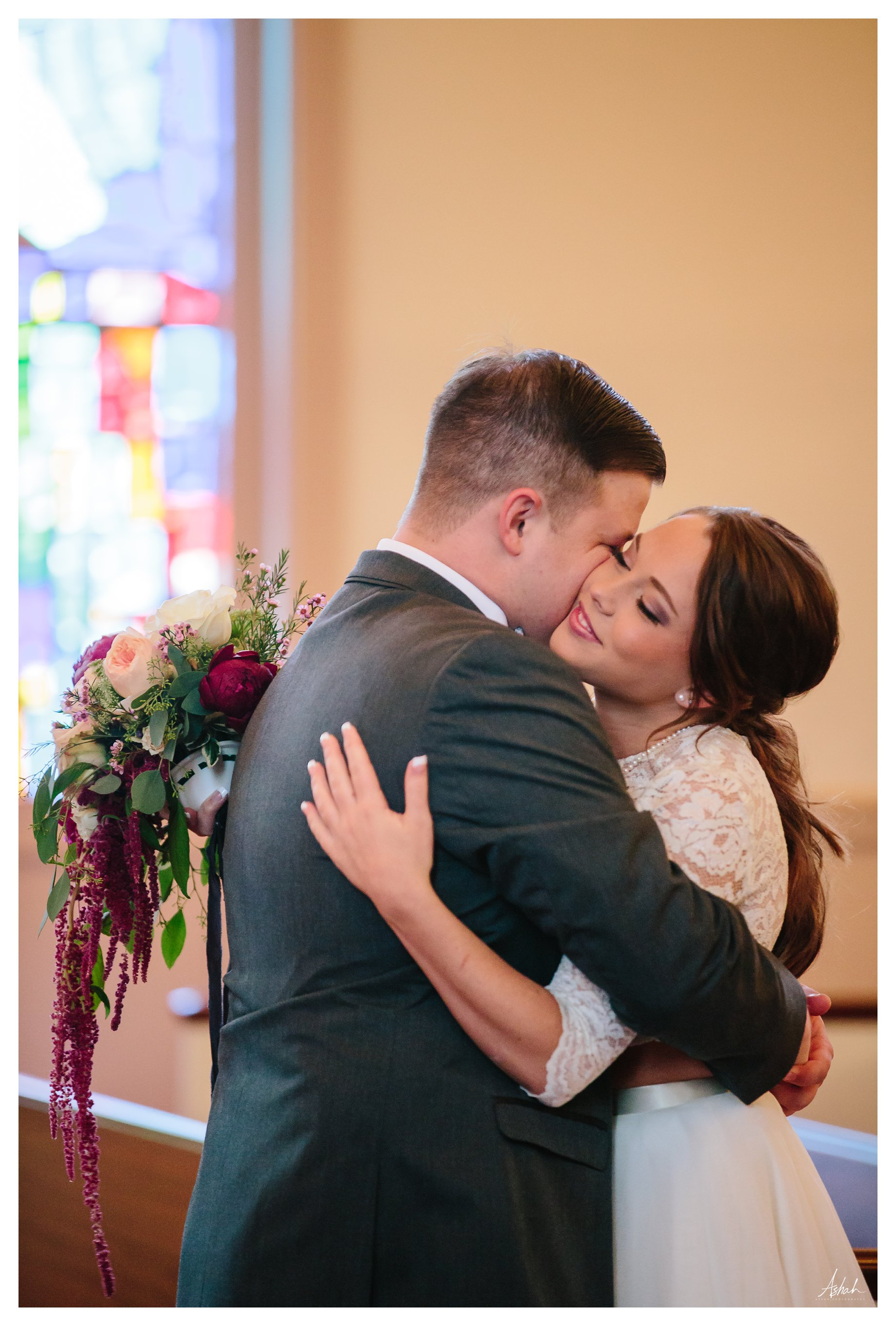 First Hug  - Dublin Wedding Photographer