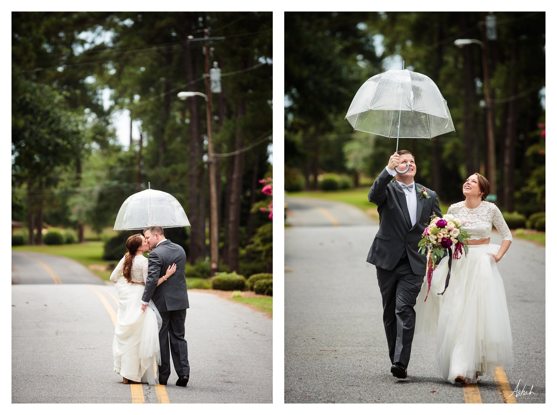 A Little Rain  - Dublin Wedding Photographer