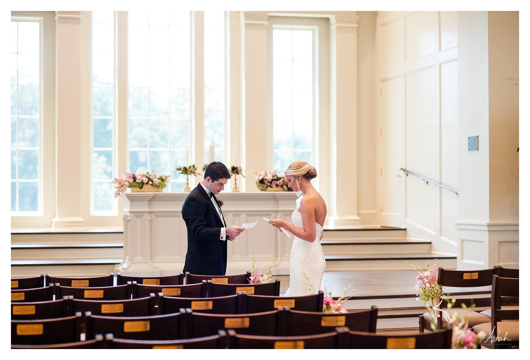 The Vows -- Macon Wedding Photographer