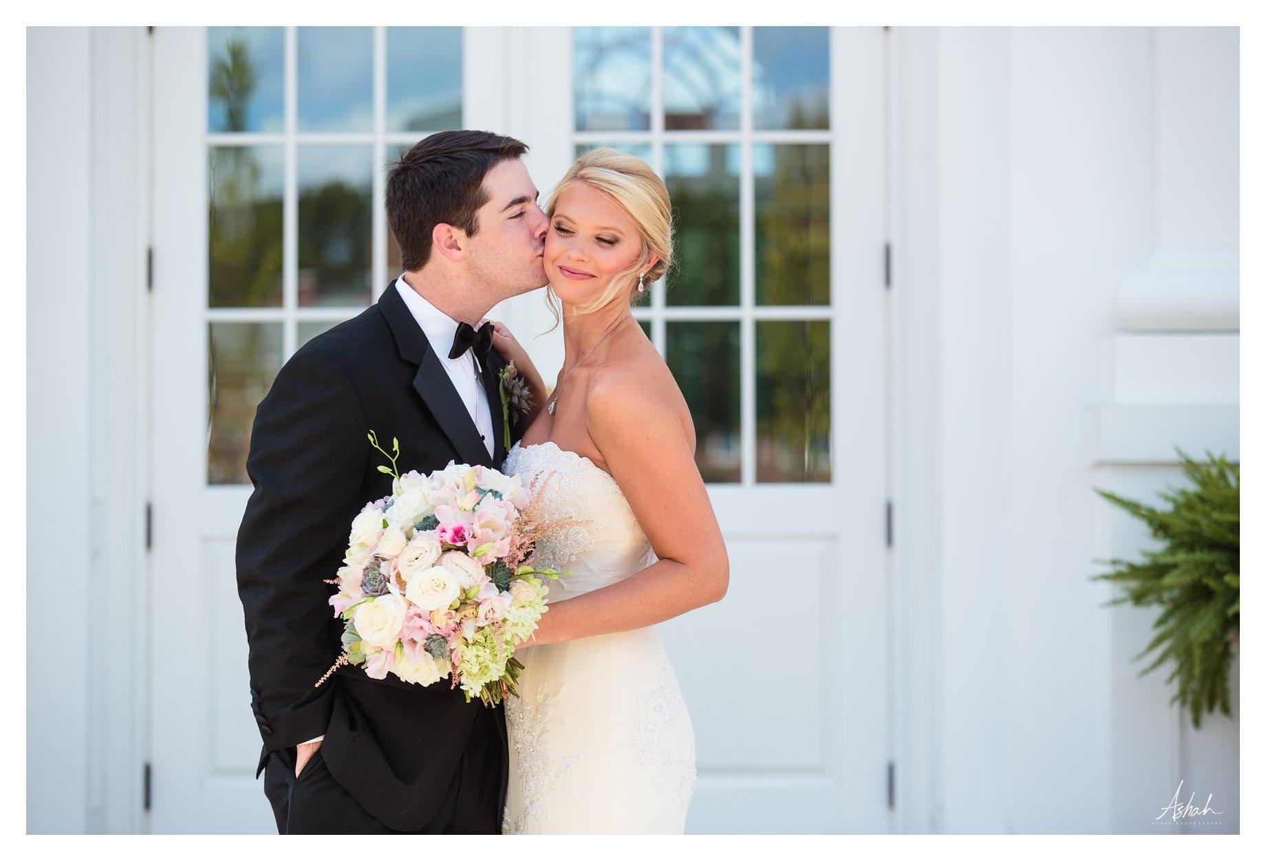 Just a kiss - Macon Wedding Photographer