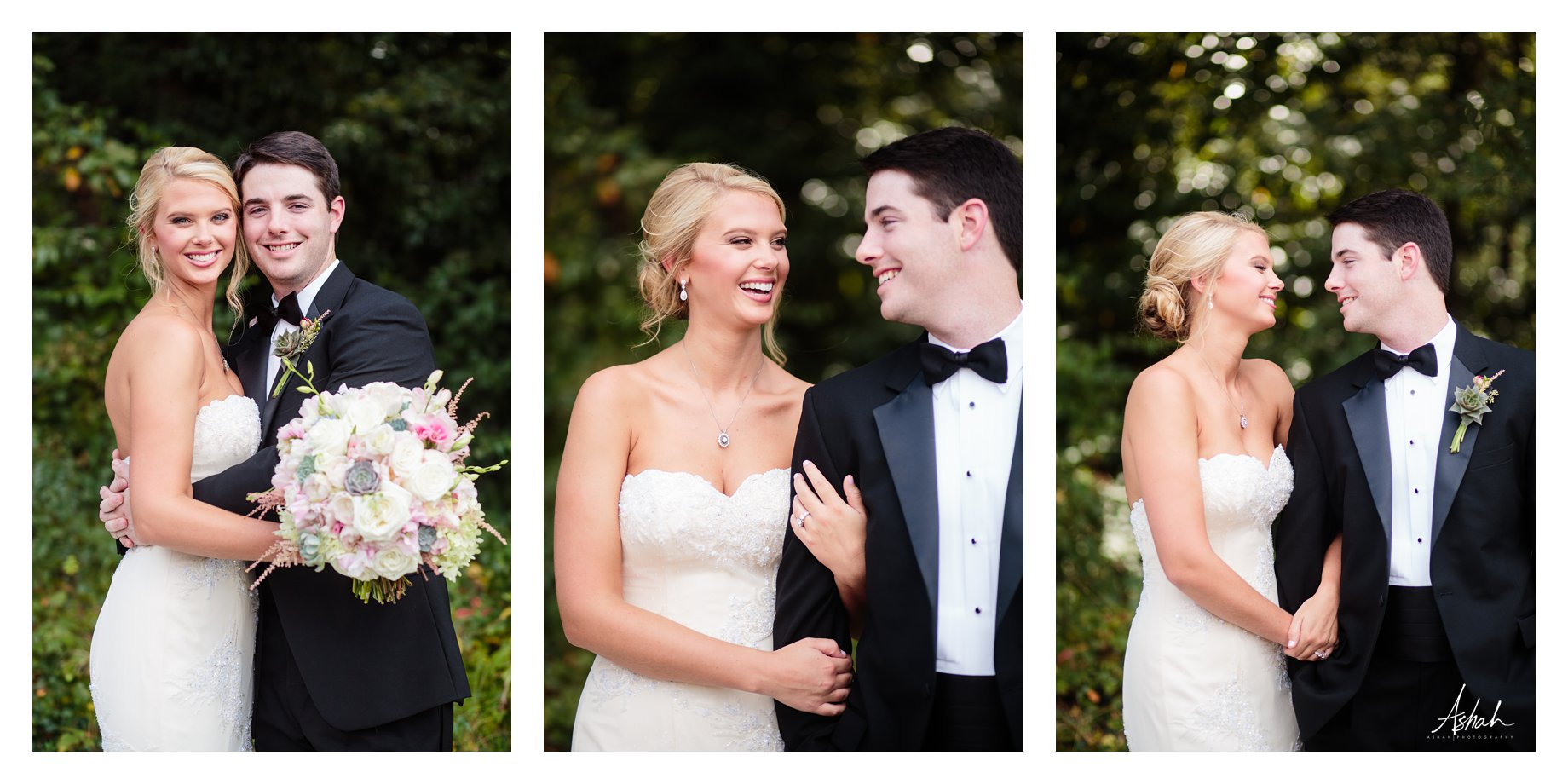 Love in the Garden - The Couple  - Macon Wedding Photographer