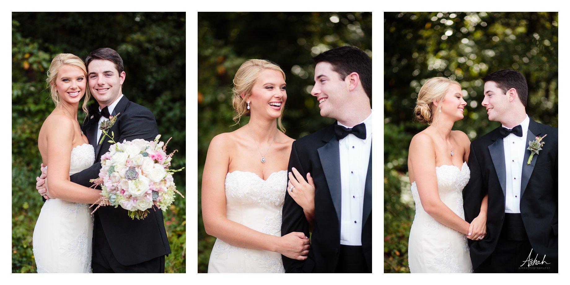 Love in the Garden - The Couple - Macon Wedding Photographer