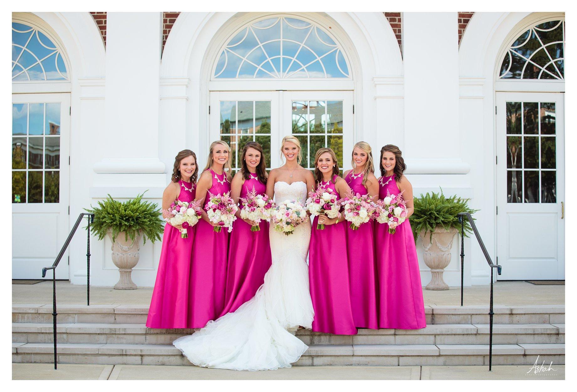 The Bride and Bridesmaids -- Macon Wedding Photographer