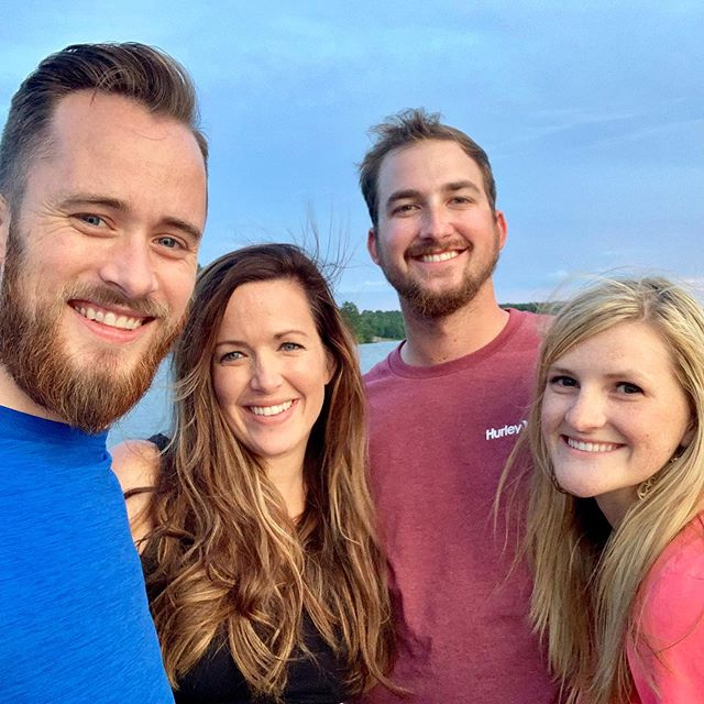Last weekend at the lake for us for a while. Can't wait until the house is built. Also, so thankful for siblings that double as friends🥰