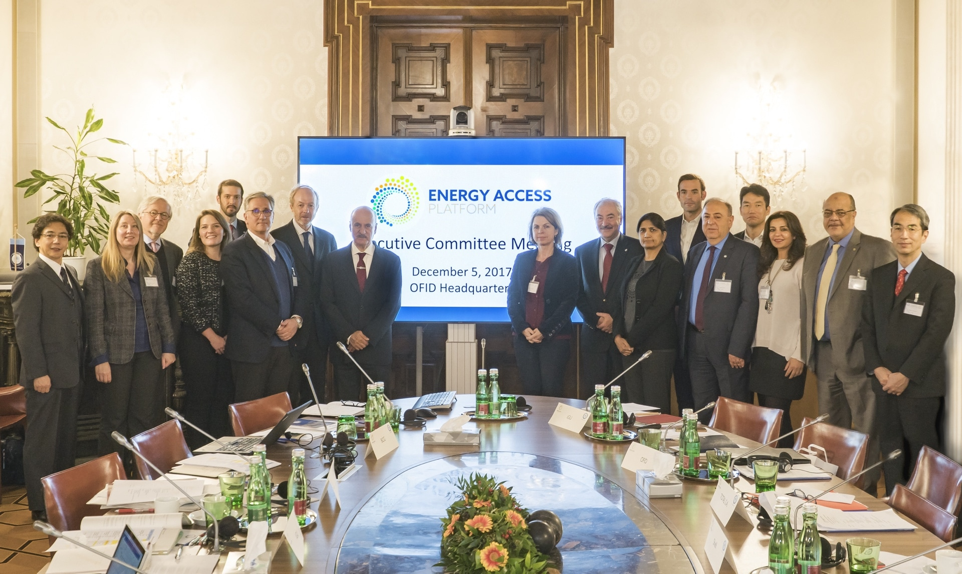 Meeting of the OFID Energy Access Platform on December 5th, Vienna, Austria.