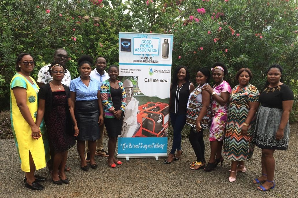 Women's entrepreneurship program briefing to cameroonian women's associations.