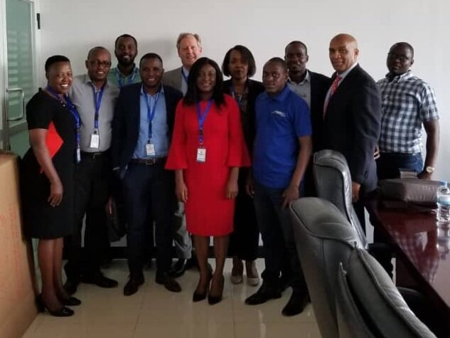 GLPGP team with Rwandan government officials and LPG industry representatives