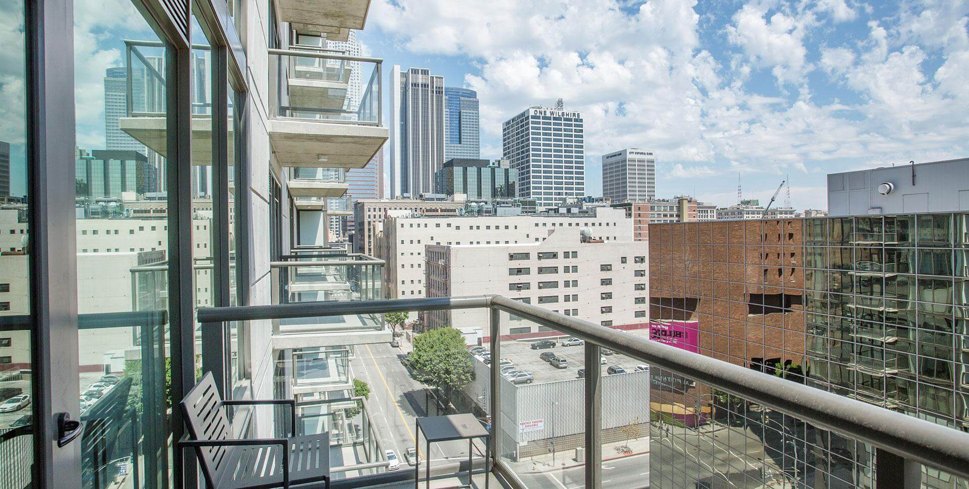 Glass & Aluminum Balcony Railings