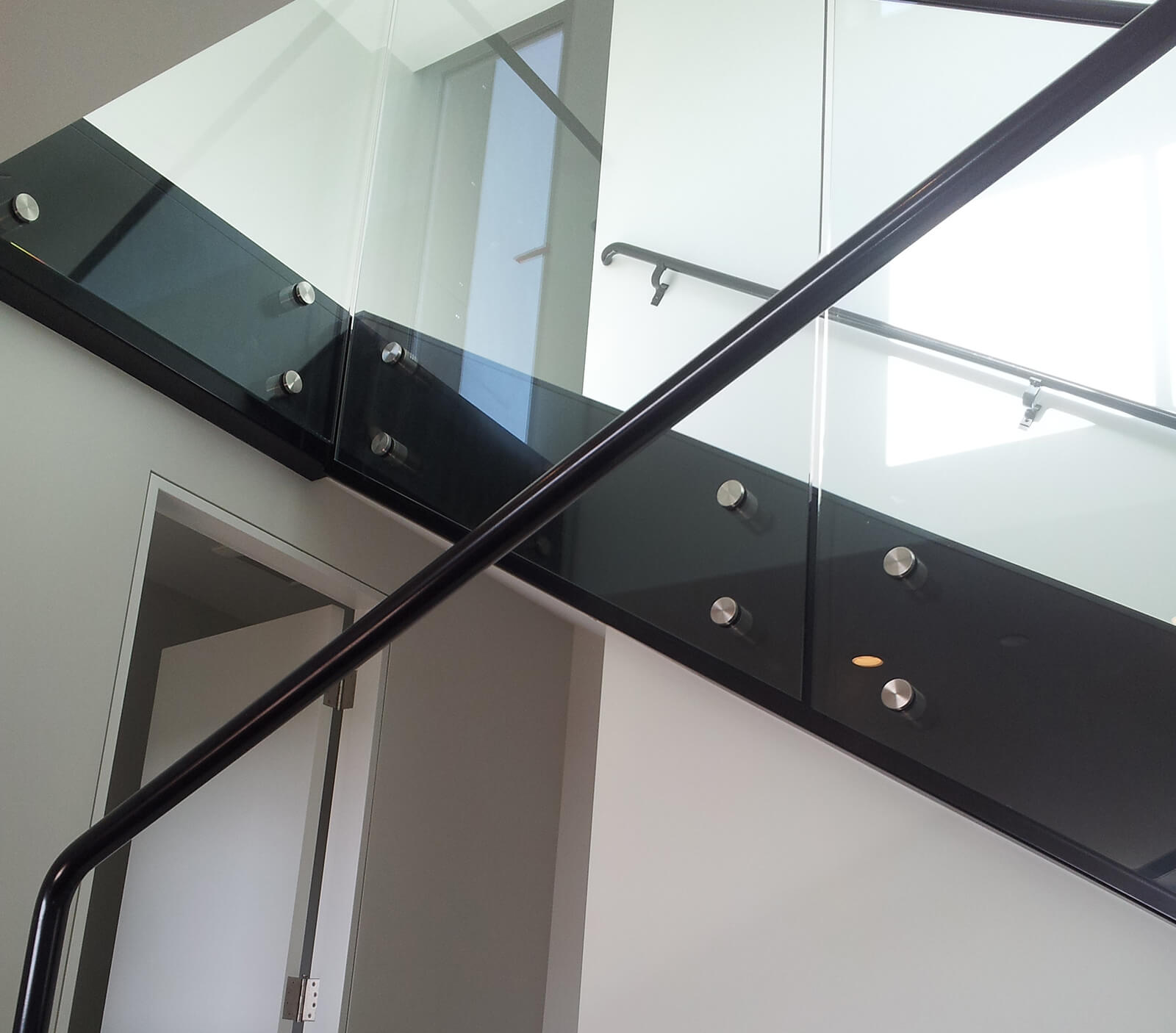 Point Supported Glass Railings