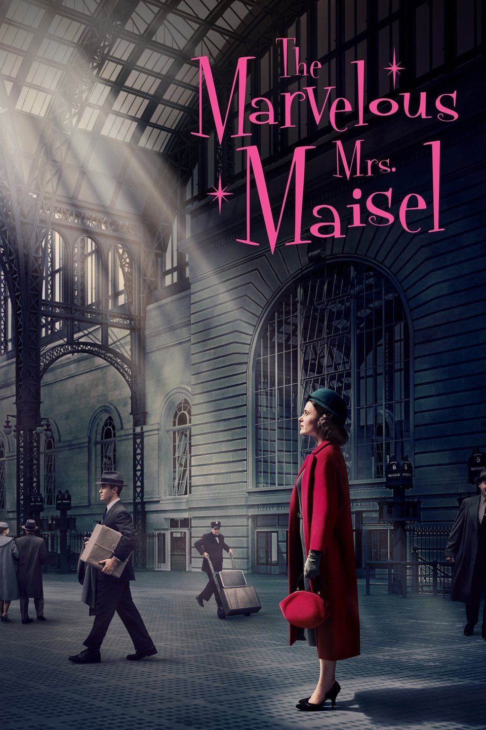 """Jackie just wrapped filming an episode of the new season of """"The Marvelous Mrs. Maisel"""" available on Amazon Prime. -"""