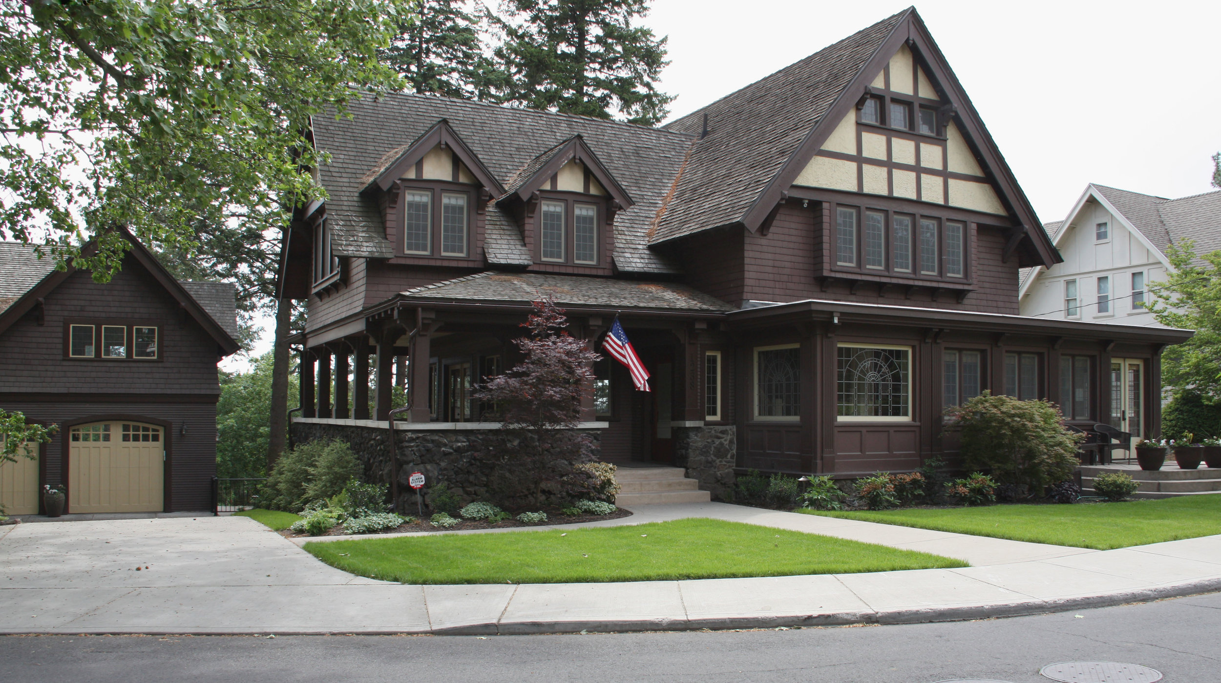 northwest craftsman landscape